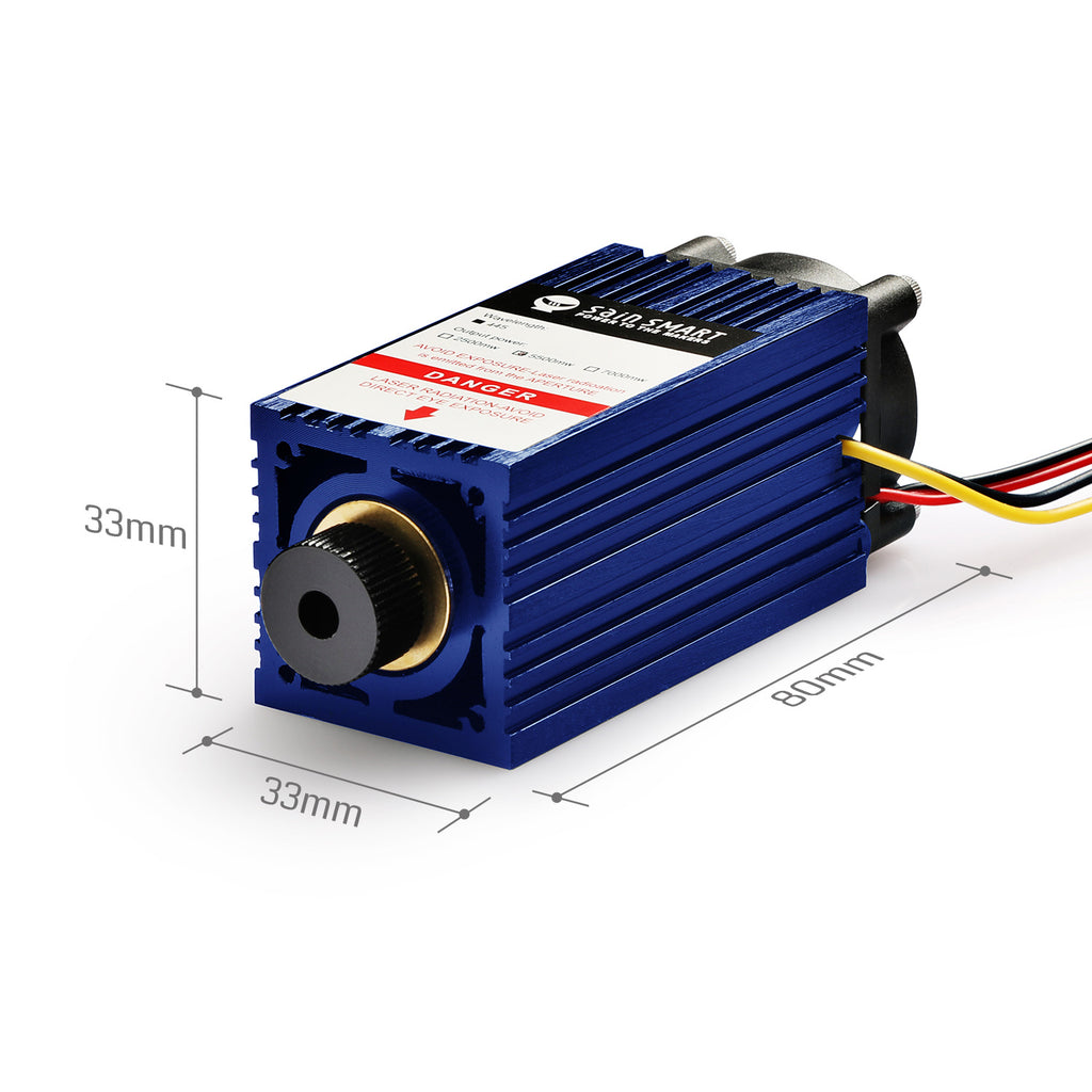 [Discontinued] 5.5W Laser Module for Genmitsu CNC 3018-MX3, 3018-PROVer