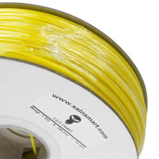 Yellow, ABS Filament 1.75mm 1kg/2.2lb