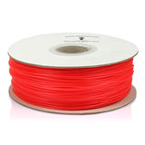 Red, Fluorescein PLA Filament 1.75mm 1kg/2.2lb