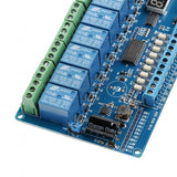 4/8-Channel Multifunctional Programmable Relay Module
