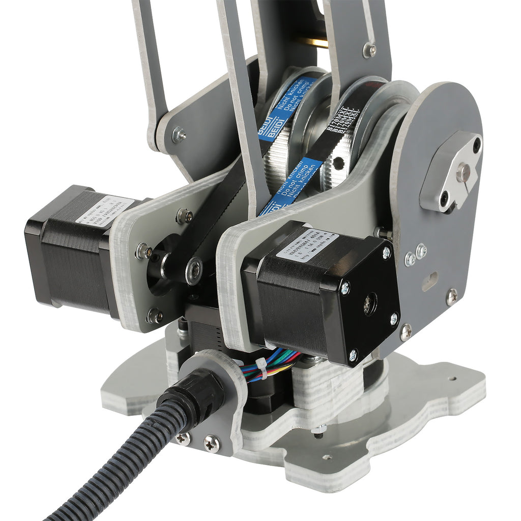 4 Axis Robotic Arm With Nema 17 Stepper Motor