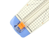 Jielisi A4 guillotine Paper Cutter Trimmer White-Blue