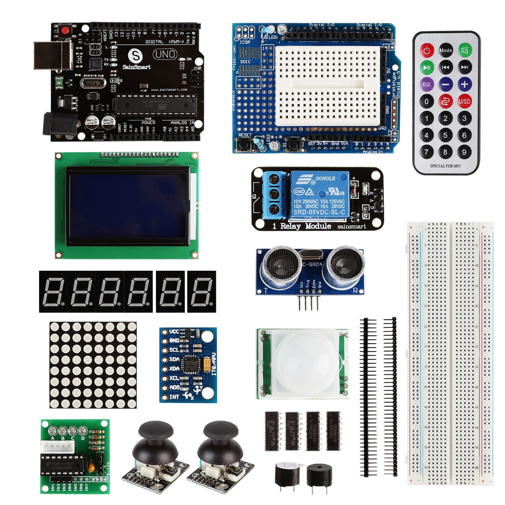 Arduino Uno Learning Kit, Deluxe Edition (CHIKU)