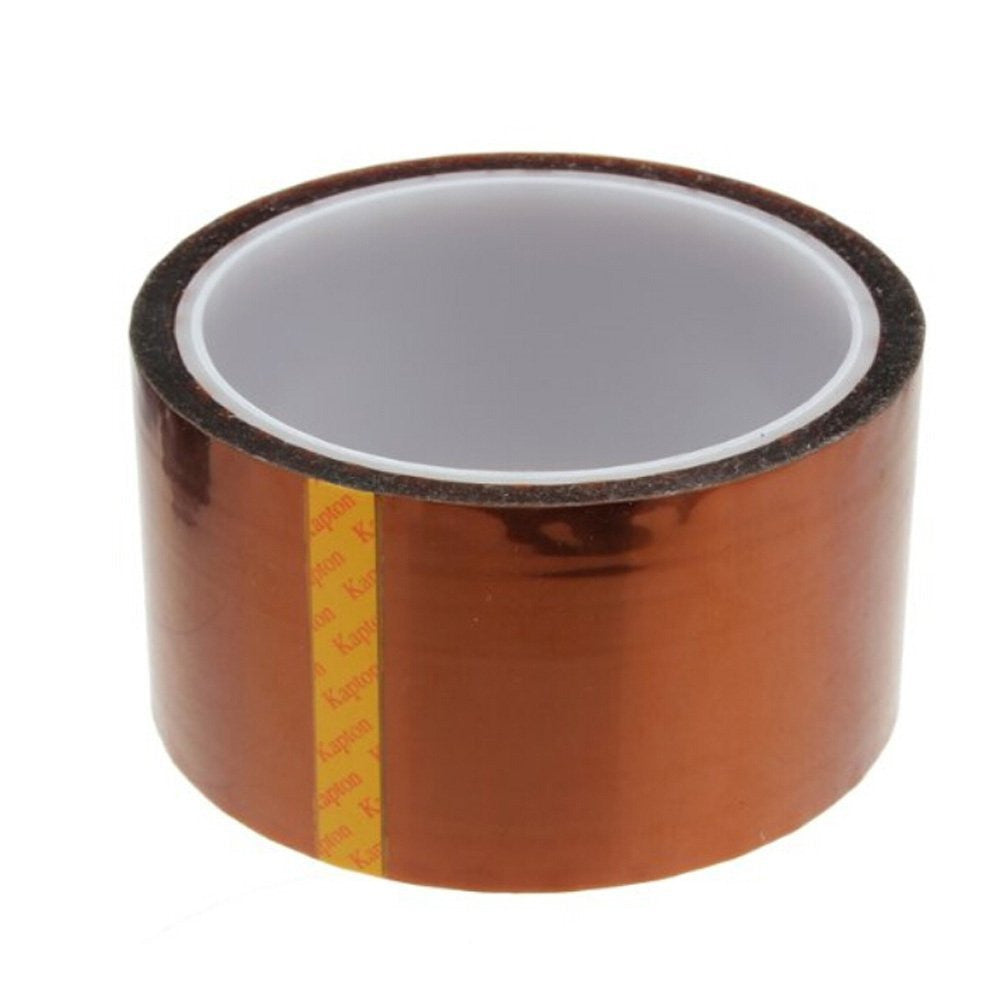 High Temperature Heat Resistant Kapton Tape Polyimide Film Adhesive Tape (50mm*33m)