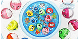 SainSmart Jr. Sparkle Rotating Magnetic Fishing Game with Music & Light Blue