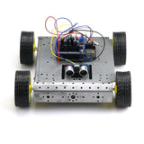 SainSmart Mobile Car Kit, Sensor Shield V5, 4WD Mobile Platform, Dual H Bridge Stepper Motor Driver