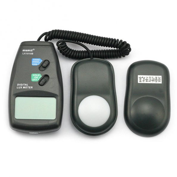 Digital Lux Meter LX1010B 1-100,000 Digital Light Level Lux Photo Light Sensor