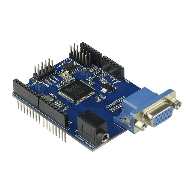 New VGA Gameduino For Arduino A Game Adapter For Microcontrollers