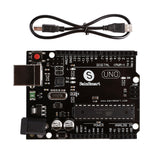 Arduino Uno Basic Learning kit (SHO) with Breadboard Resistor, Jumper Wires, Capacitor, LED, Potentiometer