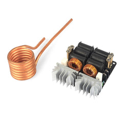 1000W 20A ZVS Low Voltage Induction Heating Module with Coil