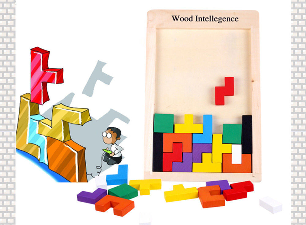 SainSmart Jr. Wooden Educational Triangle Lock 3D IQ Puzzle Cube Toy Brain Teaser Christmas gift