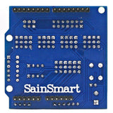 SainSmart 12864 Graphic Blue LCD + Sensor Shield V5 for Arduino UNO MEGA R3 ATMEL AVR
