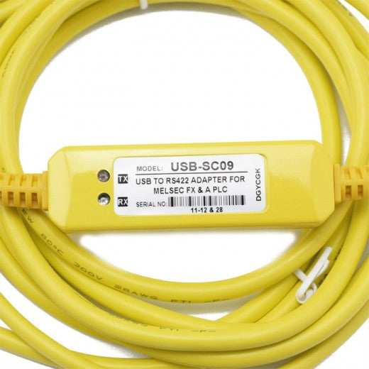 Programming Cable USB to RS422 Adapter for Melsec FX & PLC