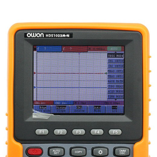 Owon HDS1022M-N Handheld 20 mhz 2 Channel Digital Storage Oscilloscope & Multimeter TrueRMS AC
