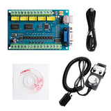 [Discontinued] SainSmart 5-Axis Mach3 USB Controller Card STB5100 with MPG Handwheel