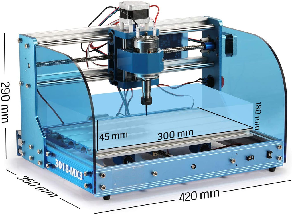 Genmitsu CNC Router 3018-PROVer Mach3 Kit