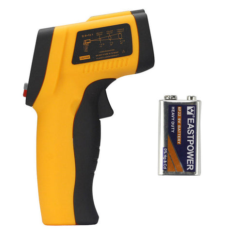 Benetech GM700 Digital Laser Infrared Temperature Thermometer -58~1292F +Battery