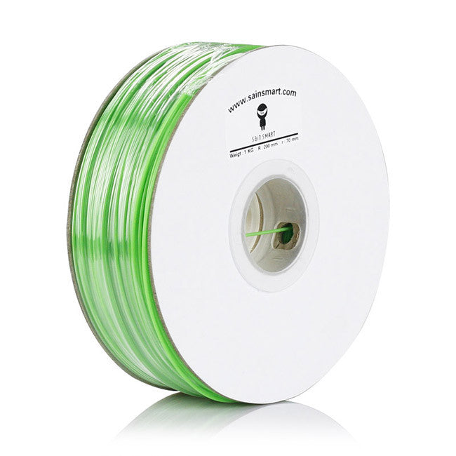 SainSmart 3mm imported PLA Filament For 3D Printers 1kg *Green*