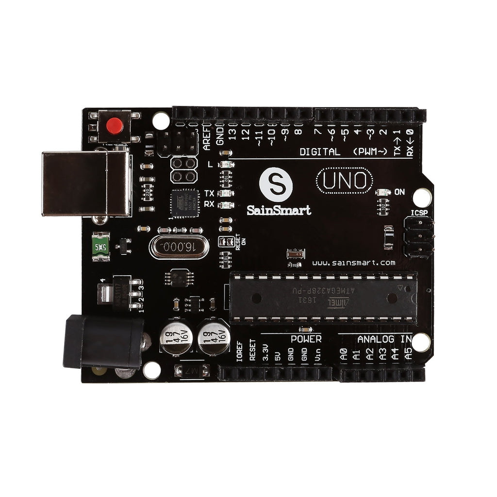 Uno Learning Kit, Compatible with Arduino, Deluxe Edition (CHIKU)
