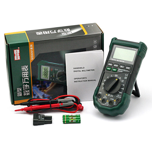 Mastech MS8268 Auto Digital Multimeter [US ONLY]