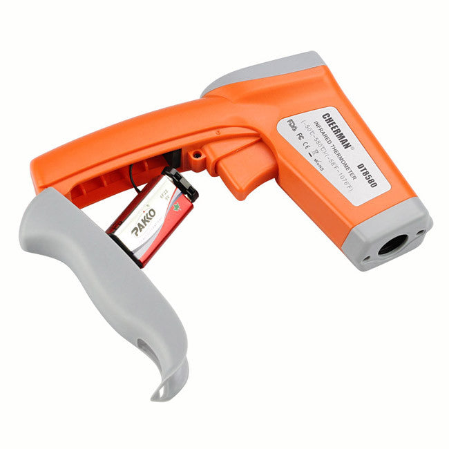 Non-Contact Laser Infrared Themometer Gun DT-8580, Temperature Range -58 F TO 1076 F