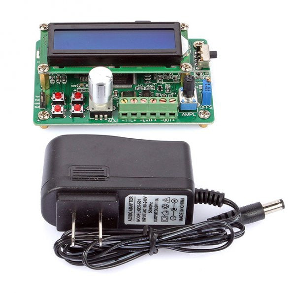SainSmart UDB1005S 5MHz DDS Function Signal Generator, Source Frequency Counter DDS Module Wave, Rev3.0 PC Serial Ports