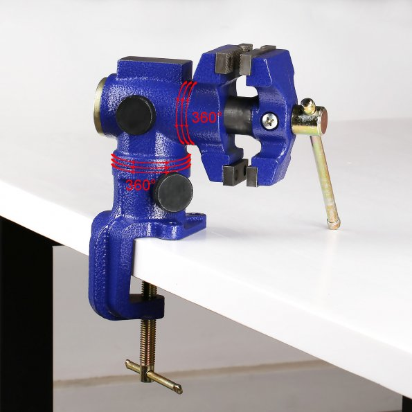 [Discontinued] Multi-functional Heavy Duty Carbon Steel Bench Vise