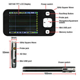 SainSmart ARM NANO DSO201 Oscilloscope Mini Storage Digital Pocket-Sized Portable Kit