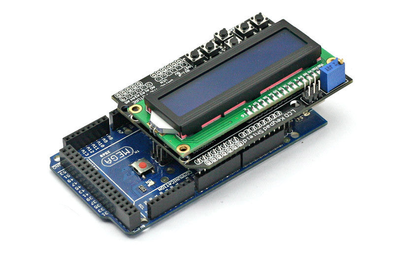SainSmart Mega2560+1602 LCD Keypad Shield Kit For ATMEL ATMEGA8U2 AVR