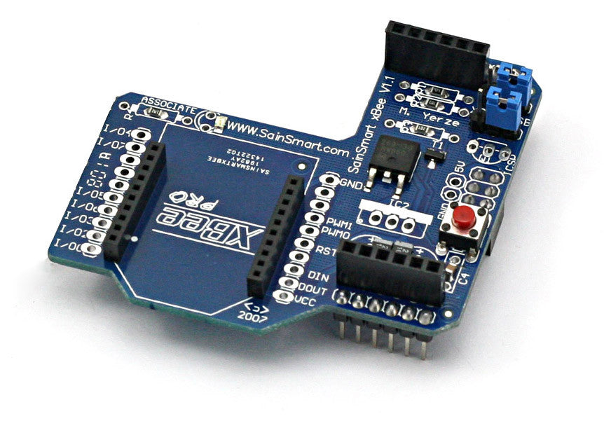 Xbee shield for arduino sainsmart