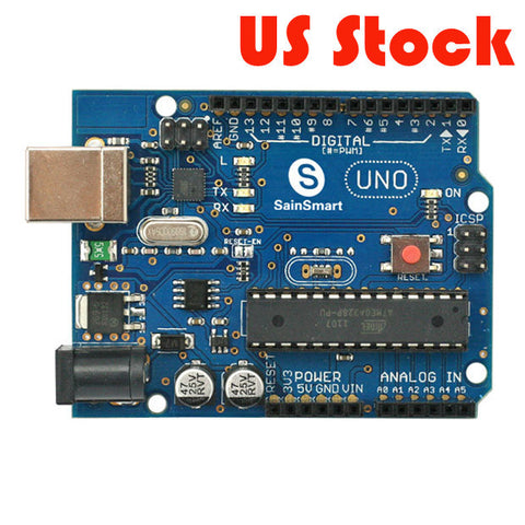 [Discontinued] SainSmart UNO ATMEGA328P-PU ATMEGA8U2 Microcontroller For Arduino