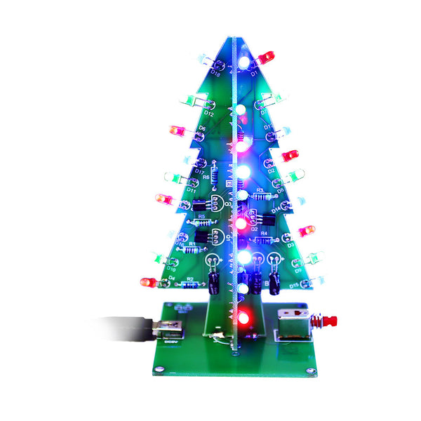 3d Christmas Trees Led Diy Kit Sainsmart Com