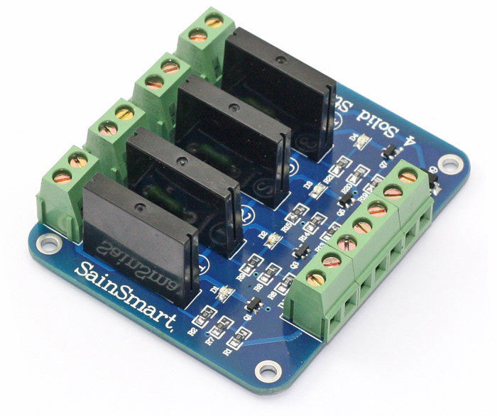 4-Channel 5V Solid State Relay Module