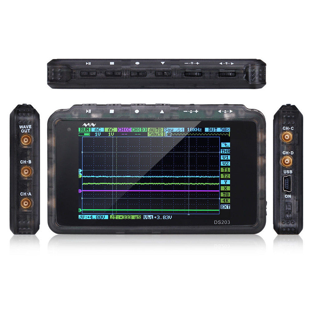 DSO203 4-Ch Handheld Mini Digital Oscilloscope