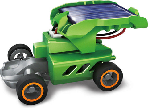 SainSmart Jr. 7 in 1 Rechargeable Solar Powered Car Kit Educational Toy Kids DIY Science Toy Christmas gift