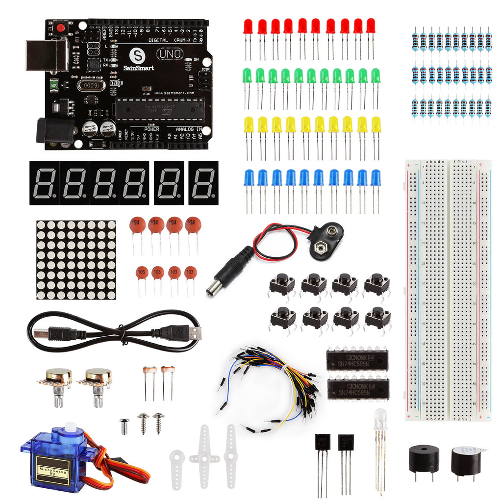Uno Learning Kit, Compatible with Arduino, Basic Edition (SHO)