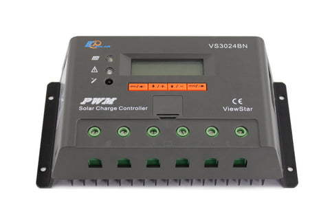 EPSOLAR Viewstar VS3024BN PWM Solar Charge Controller 30A 12/24V With LCD Display for Solar Battery Charging