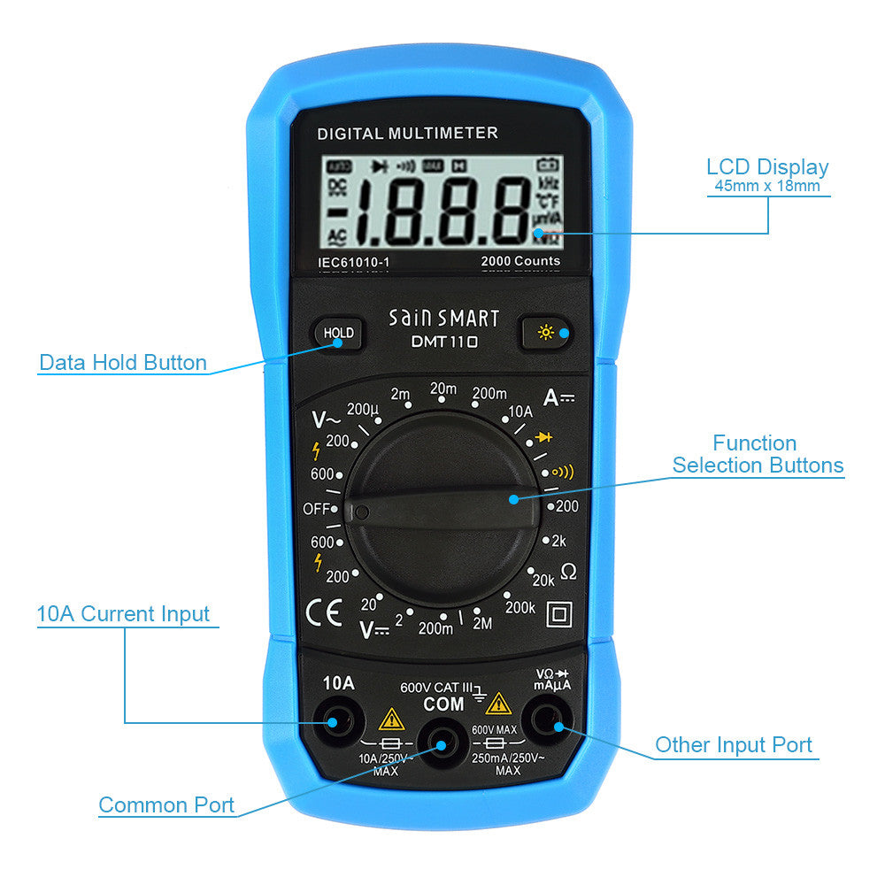 ToolPAC DMT110 Mini Digital Multimeter