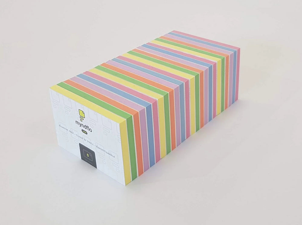 Static Notes Value Pack Small, Assorted Colours 24 Pads