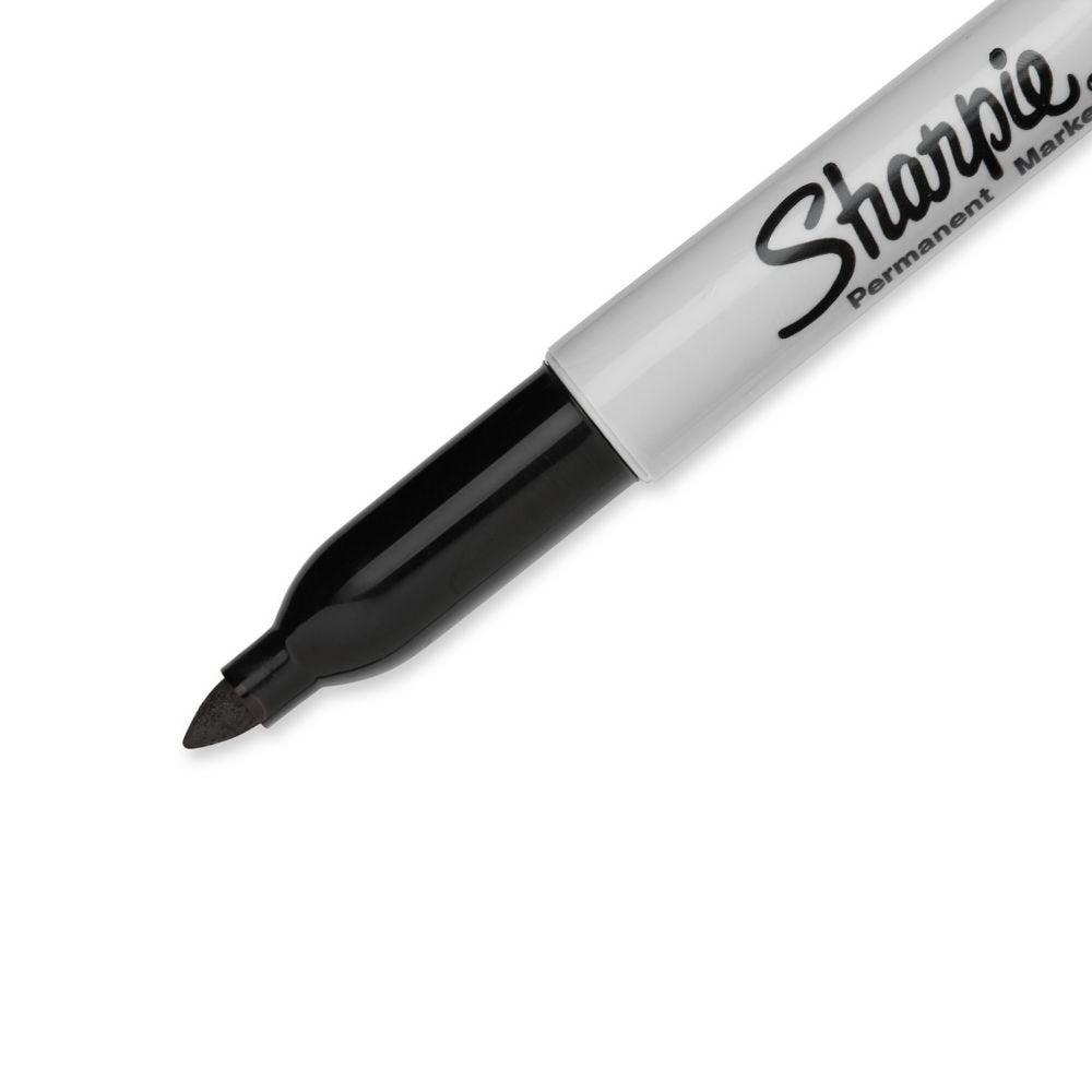 Sharpie Permanent Markers Fine, 12 Pack
