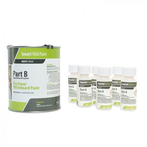 Whiteboard Wall Paint Kit - 6M2 Coverage