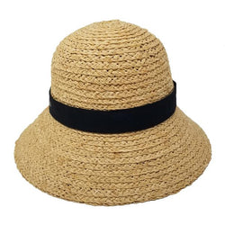 Harriot Straw Women's Cloche | Chapel Hats