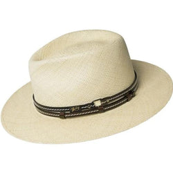 Bailey's Morden Straw Teardrop Fedora | Chapel Hats
