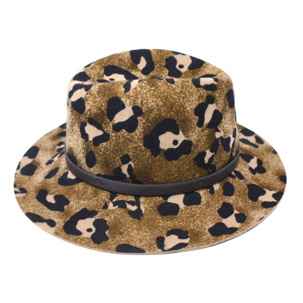 CHEETAH GAMBLER-Chapel Hats