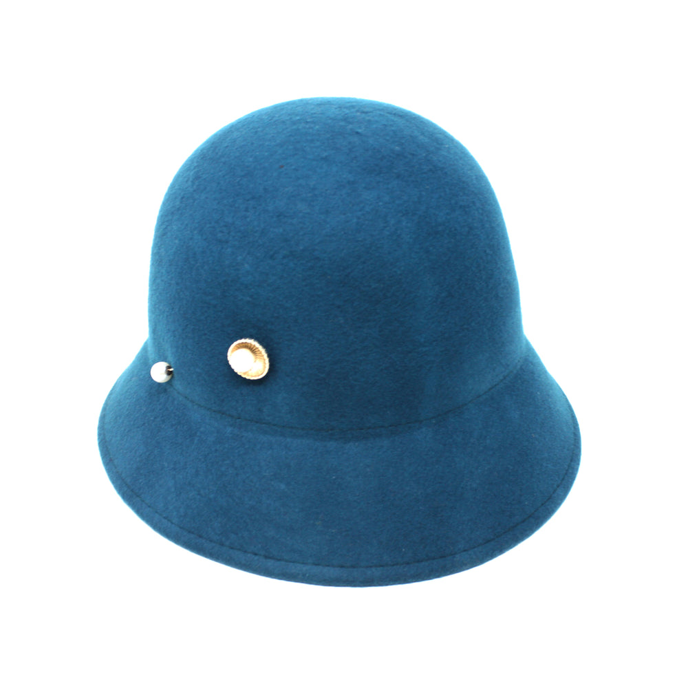 HAT PIN CLOCHE-Chapel Hats