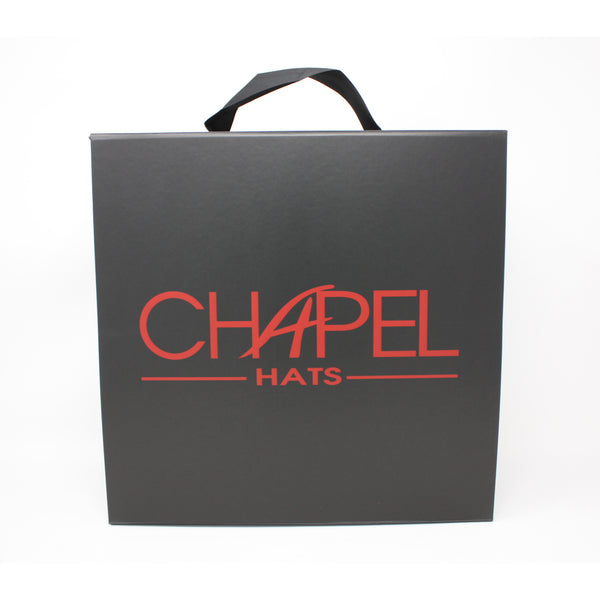 LARGE SQUARE HAT BOX-Chapel Hats