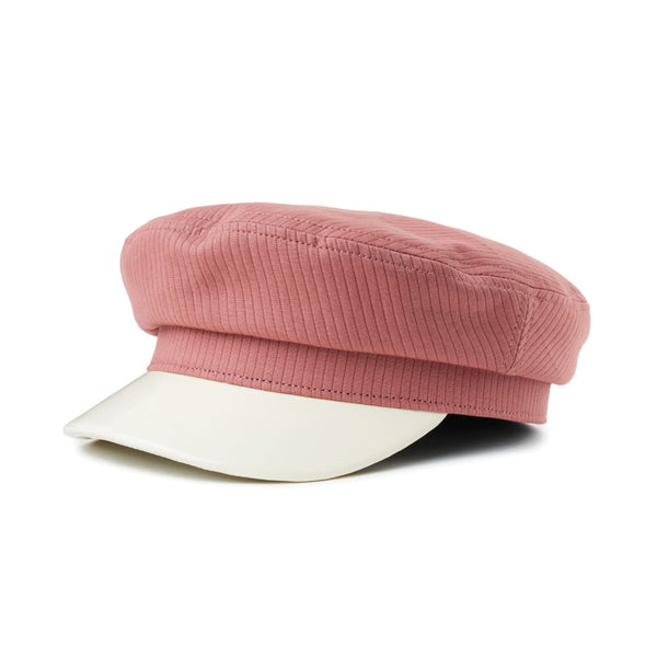Brixton Margot Women's blush Greek Fisherman Cap | Chapel Hats