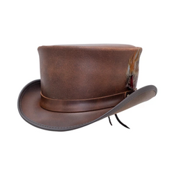 Head'n Home Marlow Top Hat LT Band Steampunk | Chapel Hats