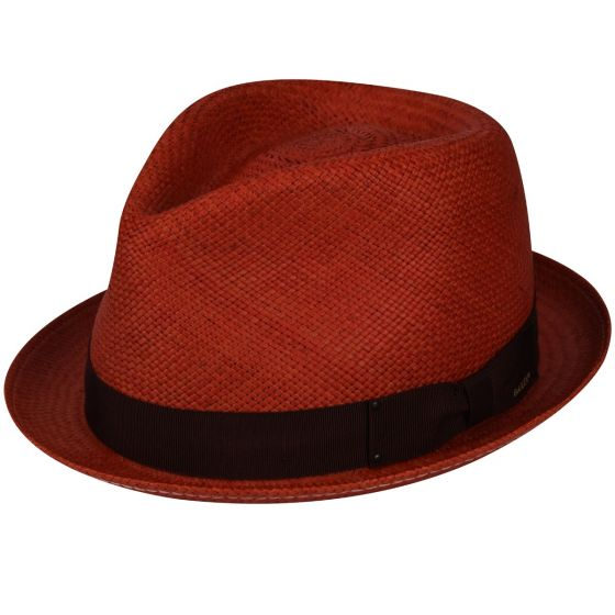 Bailey's Sydney Straw Genuine Panama Fedora | Chapel Hats