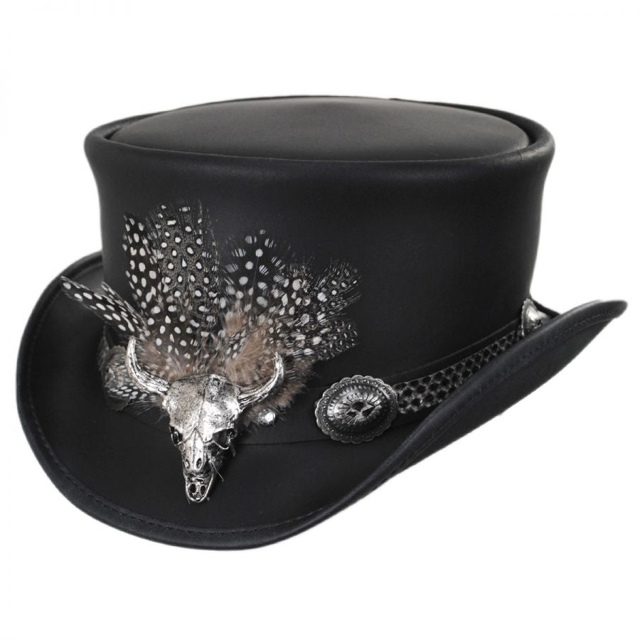 True Grit Top Hat-Chapel Hats